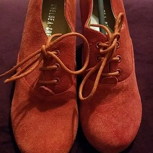 chelsea crew Shoes - Rust red mule s